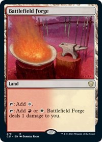 Battlefield Forge, Magic: The Gathering, Commander 2021