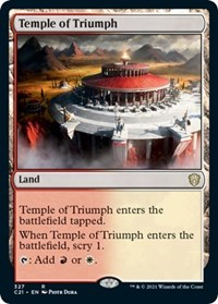 Temple of Triumph, Magic: The Gathering, Commander 2021