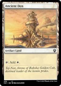 Ancient Den, Magic: The Gathering, Commander 2021