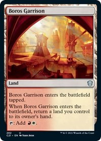 Boros Garrison, Magic: The Gathering, Commander 2021