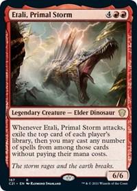 Etali, Primal Storm, Magic: The Gathering, Commander 2021