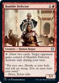 Humble Defector, Magic: The Gathering, Commander 2021