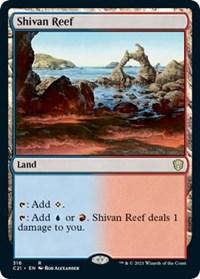 Shivan Reef, Magic: The Gathering, Commander 2021