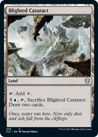 Blighted Cataract, Magic: The Gathering, Commander 2021
