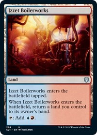 Izzet Boilerworks, Magic: The Gathering, Commander 2021