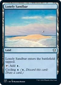 Lonely Sandbar, Magic: The Gathering, Commander 2021