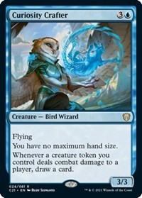 Curiosity Crafter, Magic: The Gathering, Commander 2021