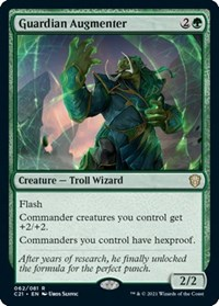 Guardian Augmenter, Magic: The Gathering, Commander 2021