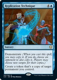 Replication Technique, Magic: The Gathering, Commander 2021