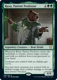 Ruxa, Patient Professor, Magic: The Gathering, Commander 2021