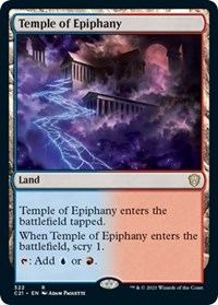 Temple of Epiphany, Magic: The Gathering, Commander 2021