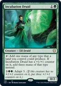 Incubation Druid, Magic: The Gathering, Commander 2021