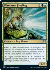 Plaxcaster Frogling, Magic: The Gathering, Commander 2021