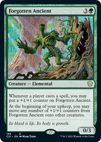 Forgotten Ancient, Magic: The Gathering, Commander 2021