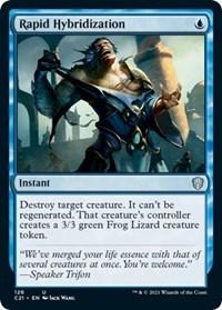 Rapid Hybridization, Magic: The Gathering, Commander 2021