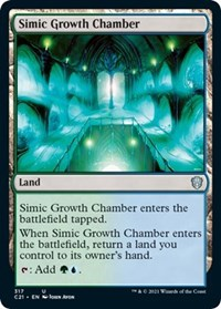 Simic Growth Chamber, Magic: The Gathering, Commander 2021