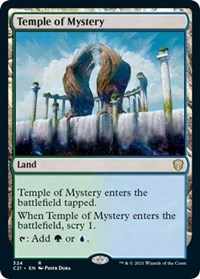 Temple of Mystery, Magic: The Gathering, Commander 2021
