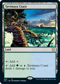 Yavimaya Coast, Magic: The Gathering, Commander 2021
