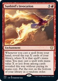 Sunbird's Invocation, Magic: The Gathering, Commander 2021