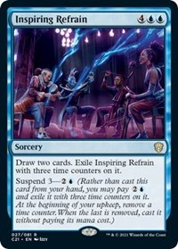 Inspiring Refrain, Magic: The Gathering, Commander 2021