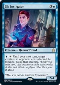 Sly Instigator, Magic: The Gathering, Commander 2021