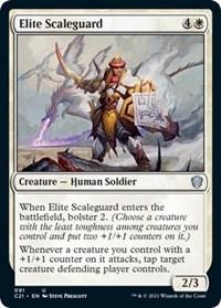 Elite Scaleguard, Magic: The Gathering, Commander 2021