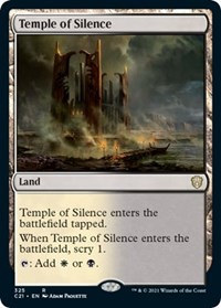 Temple of Silence, Magic: The Gathering, Commander 2021