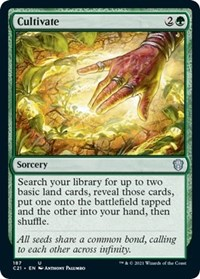 Cultivate, Magic: The Gathering, Commander 2021