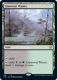 Llanowar Wastes, Magic: The Gathering, Commander 2021