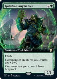 Guardian Augmenter (Extended Art), Magic: The Gathering, Commander 2021