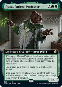 Ruxa, Patient Professor (Extended Art), Magic: The Gathering, Commander 2021