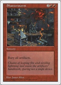 Shatterstorm, Magic: The Gathering, Fifth Edition