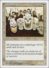 Shield Wall, Magic: The Gathering, Fifth Edition