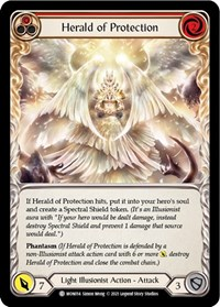 Herald of Protection (Red)