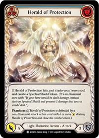 Herald of Protection (Blue)