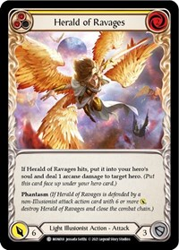 Herald of Ravages (Yellow)