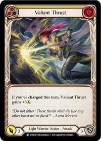 Valiant Thrust (Yellow)