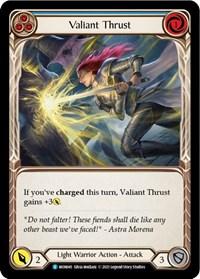Valiant Thrust (Blue)