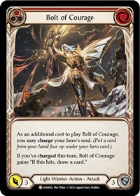 Bolt of Courage (Red)