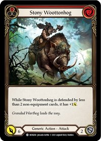 Stony Wootonhog (Red)