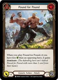 Pound for Pound (Blue)