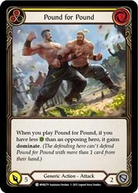 Pound for Pound (Yellow)
