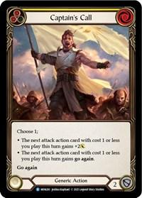 Captain's Call (Yellow)