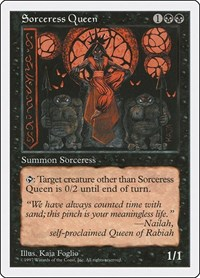 Sorceress Queen, Magic: The Gathering, Fifth Edition