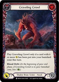 Graveling Growl (Red)