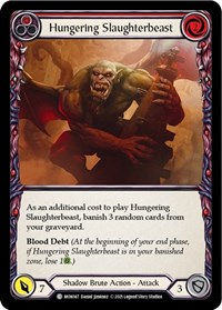 Hungering Slaughterbeast (Red)