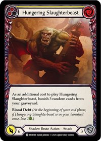 Hungering Slaughterbeast (Yellow)