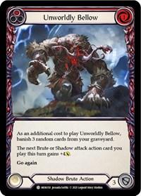 Unworldly Bellow (Red)