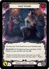 Void Wraith (Yellow)