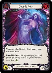 Ghostly Visit (Blue)